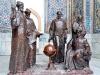 Памятник Улугбеку и учителям