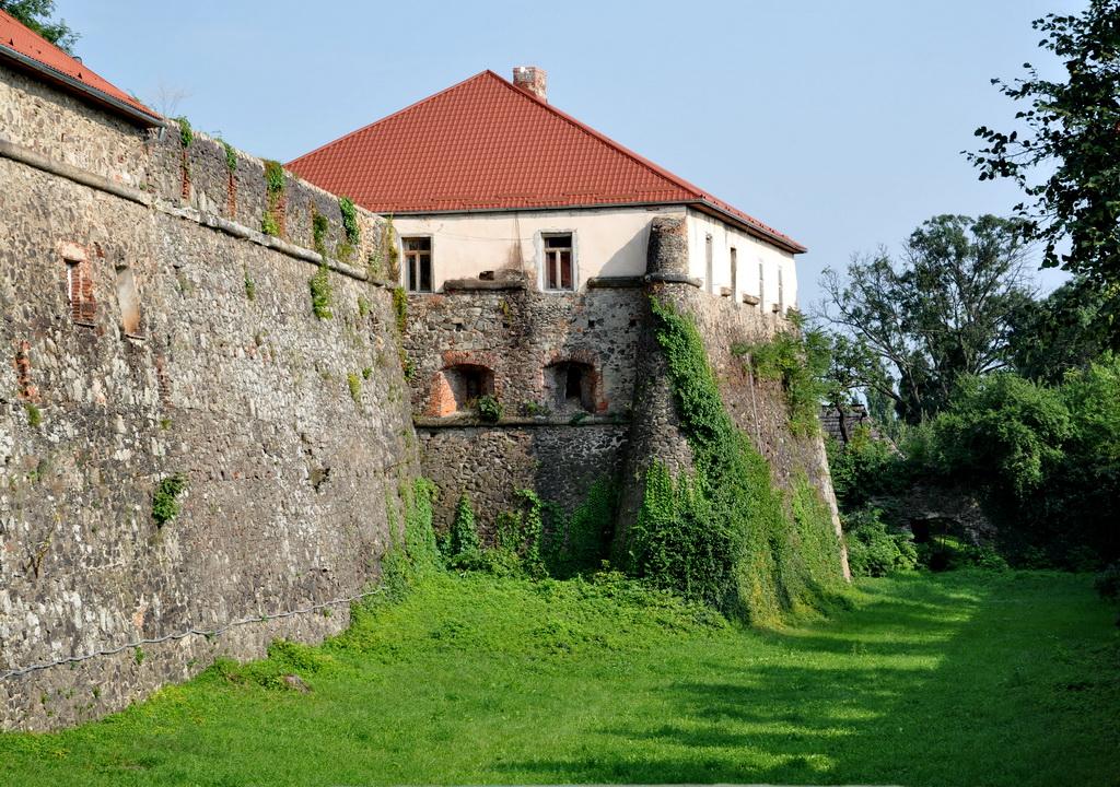 Старинный замок в Ужгороде