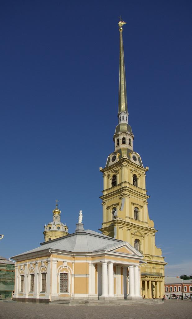 Собор в Петропавловской крепости