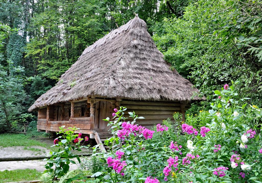 Деревянная архитектура Украины
