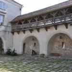 во дворе Олеського замка