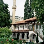 в парке Бахчисарайского дворца