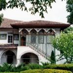 фасад дворца в Бахчисарае