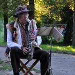 музыкант в парке