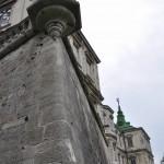 Стены древнего замка