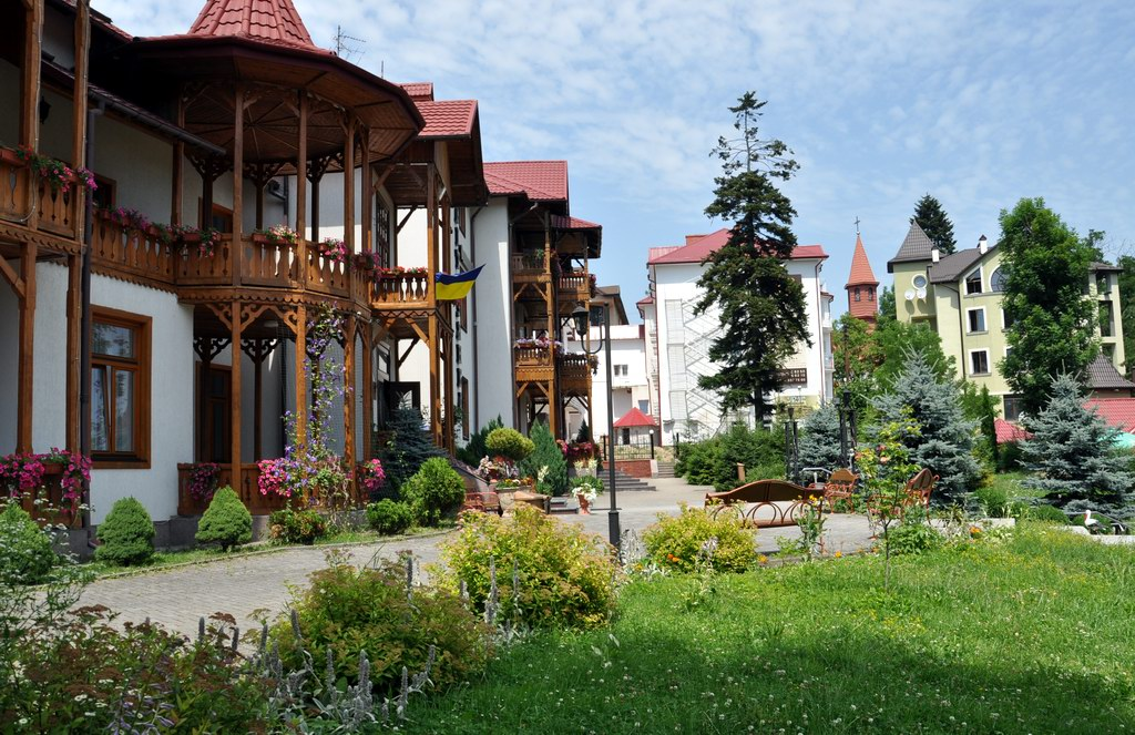 Украинский курорт Трускавец