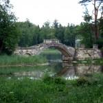 в парке Павловска