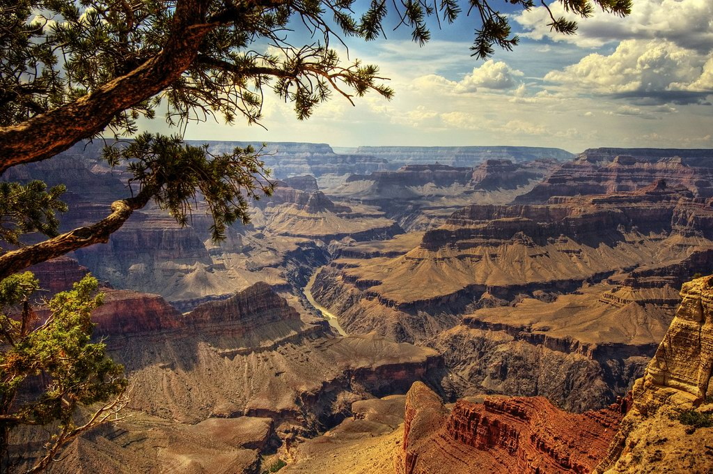 Вид на Гранд Каньон