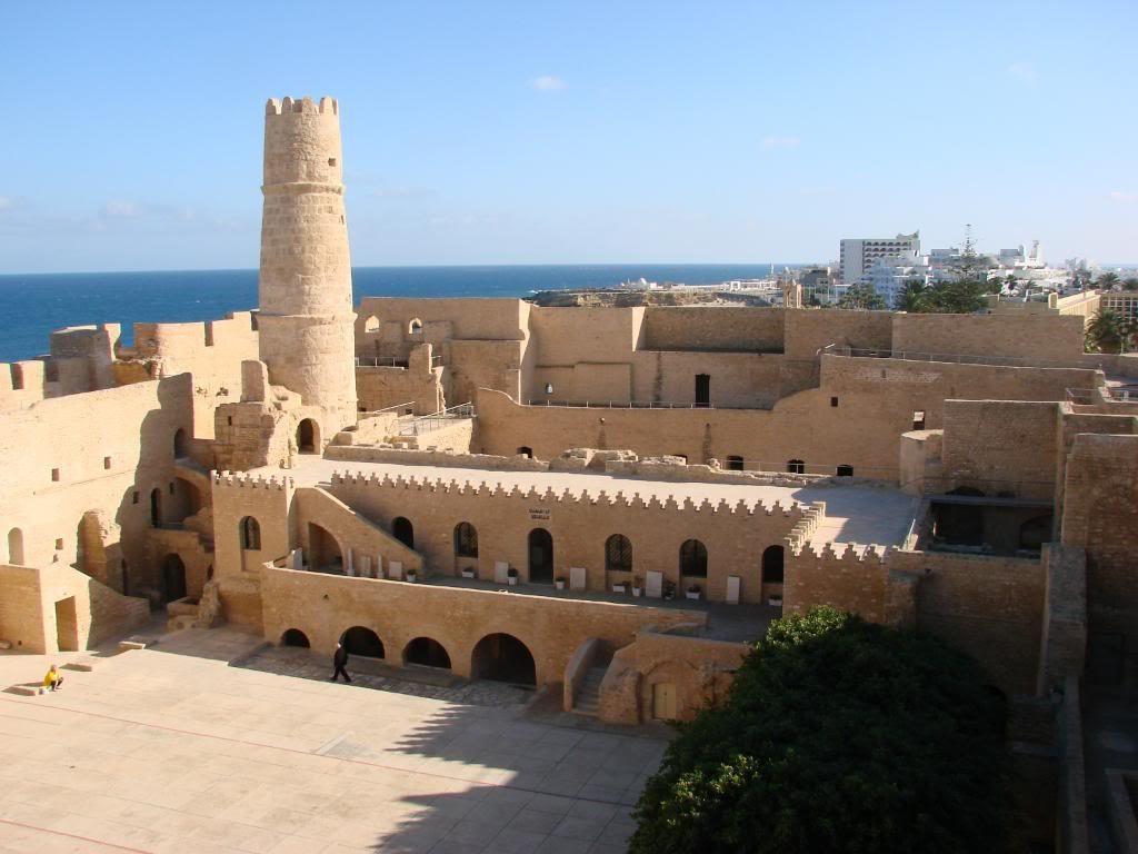 Древний город Сусс в Тунисе