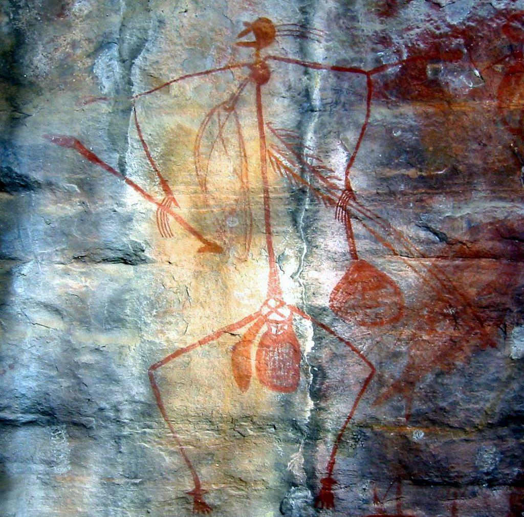 надписи в древних пещерах