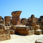 руины жилых кварталов Карфагена