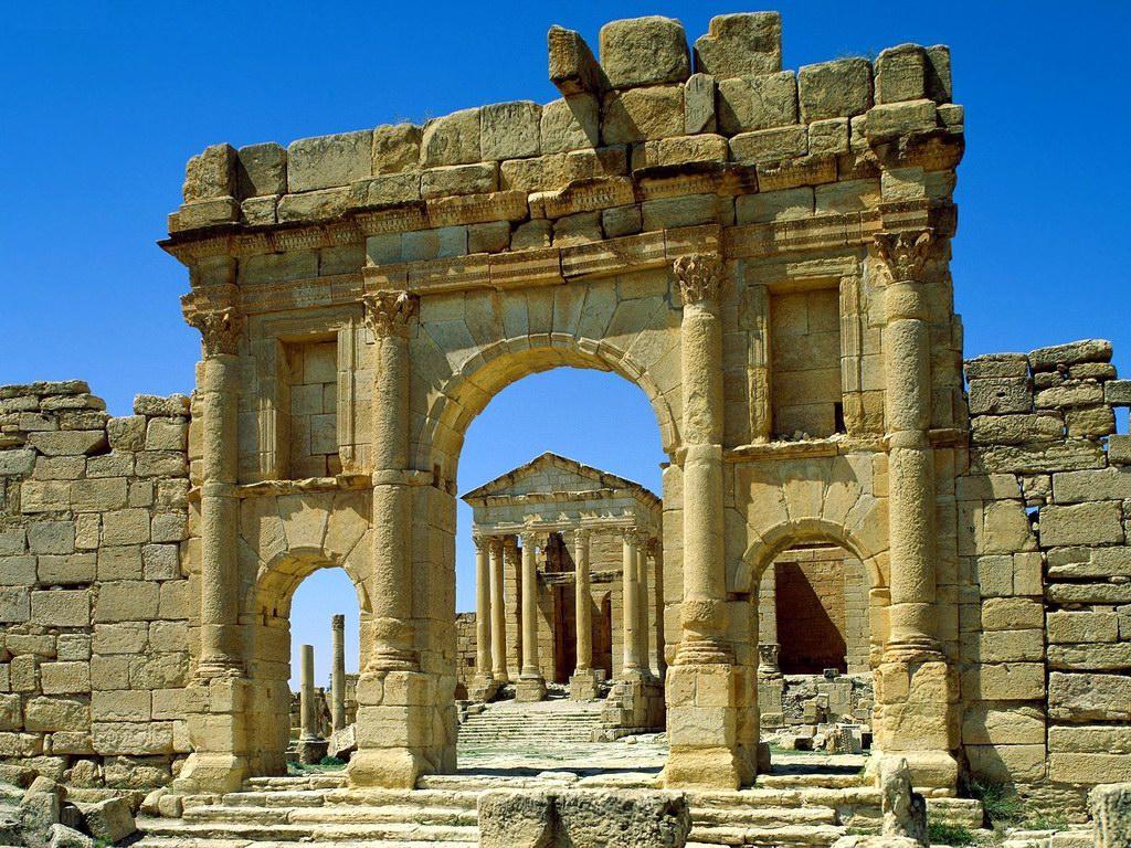 Развалины древнего Карфагена