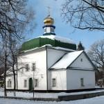 Спасская церковь зимой