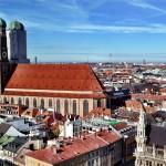 Собор Фрауенкирхе и панорама Мюнхена