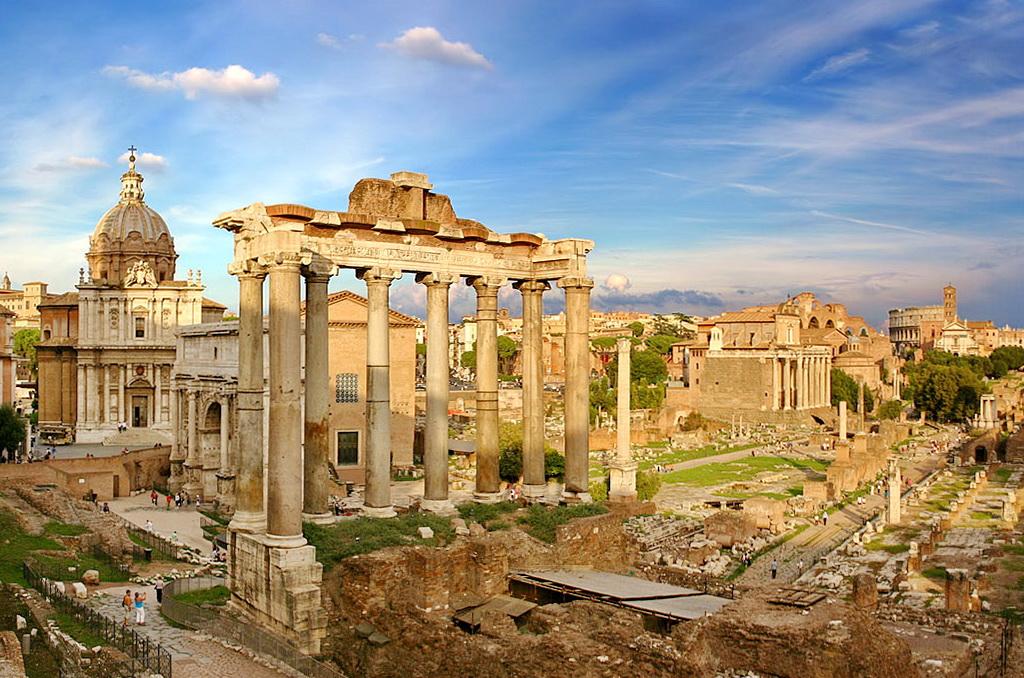 Античный древний Рим