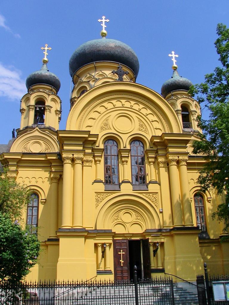 Церковь Марии Магдалины в Варшаве