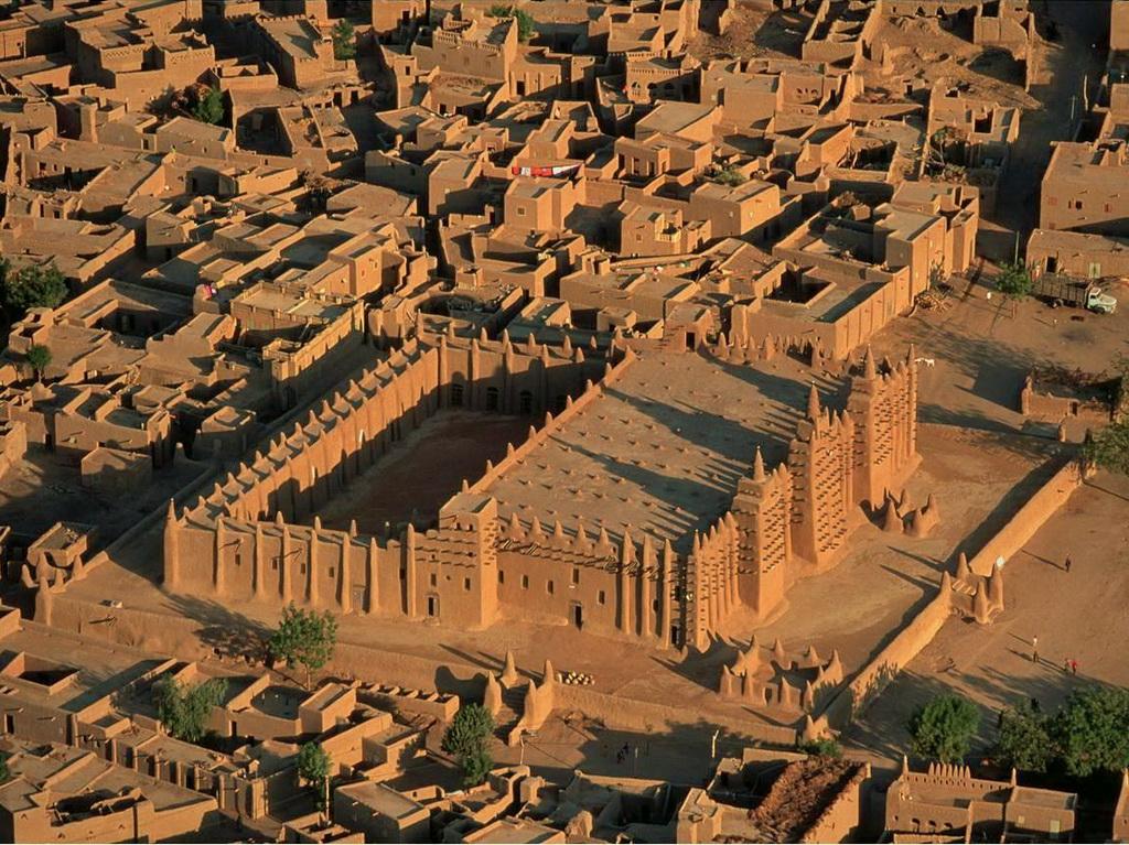 Мечеть Дженне сверху