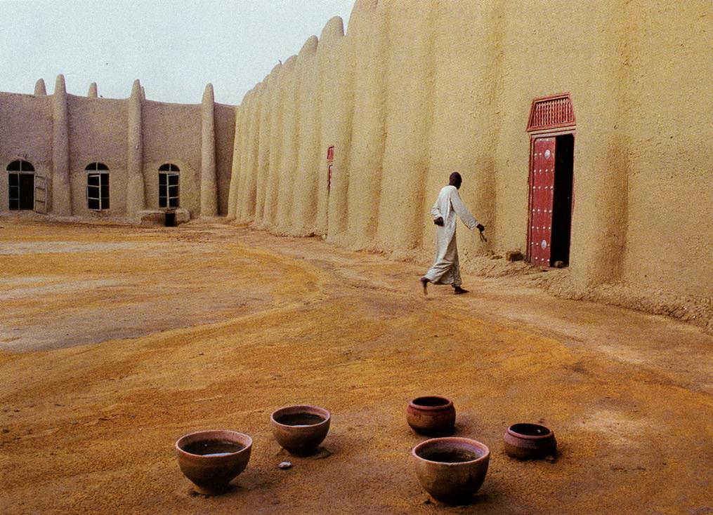 Внутренний двор мечети Дженне