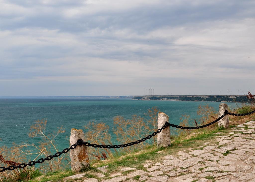 Панорама с мыса Калиакра