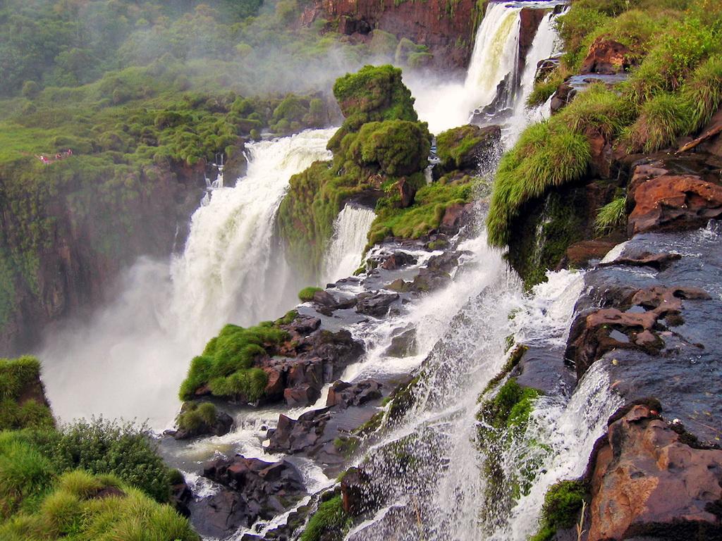 горные водопады Талампайя