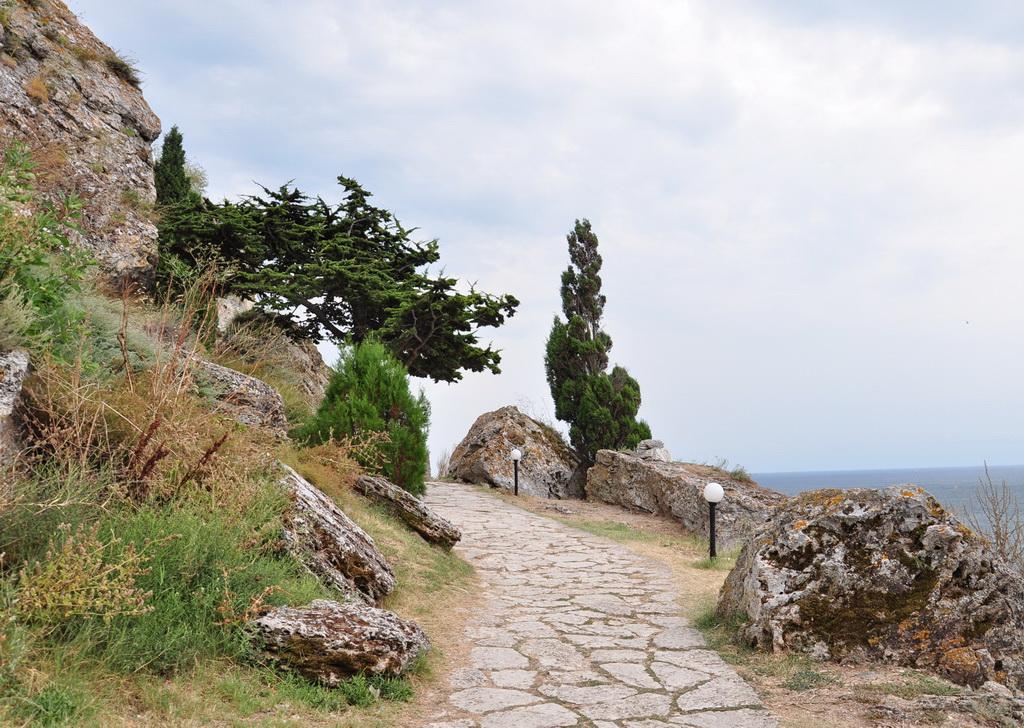 Туристическая тропа на мысе Калиакра