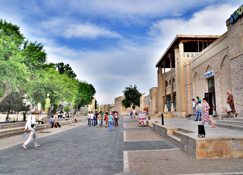 Центр Бухары Ляби-хауз