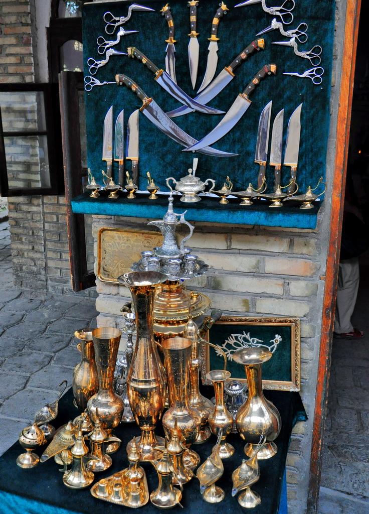 Традиционные сувениры из металла