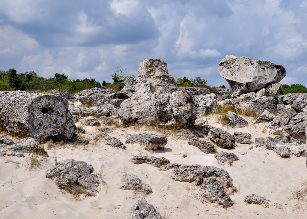 пейзаж Побити камни