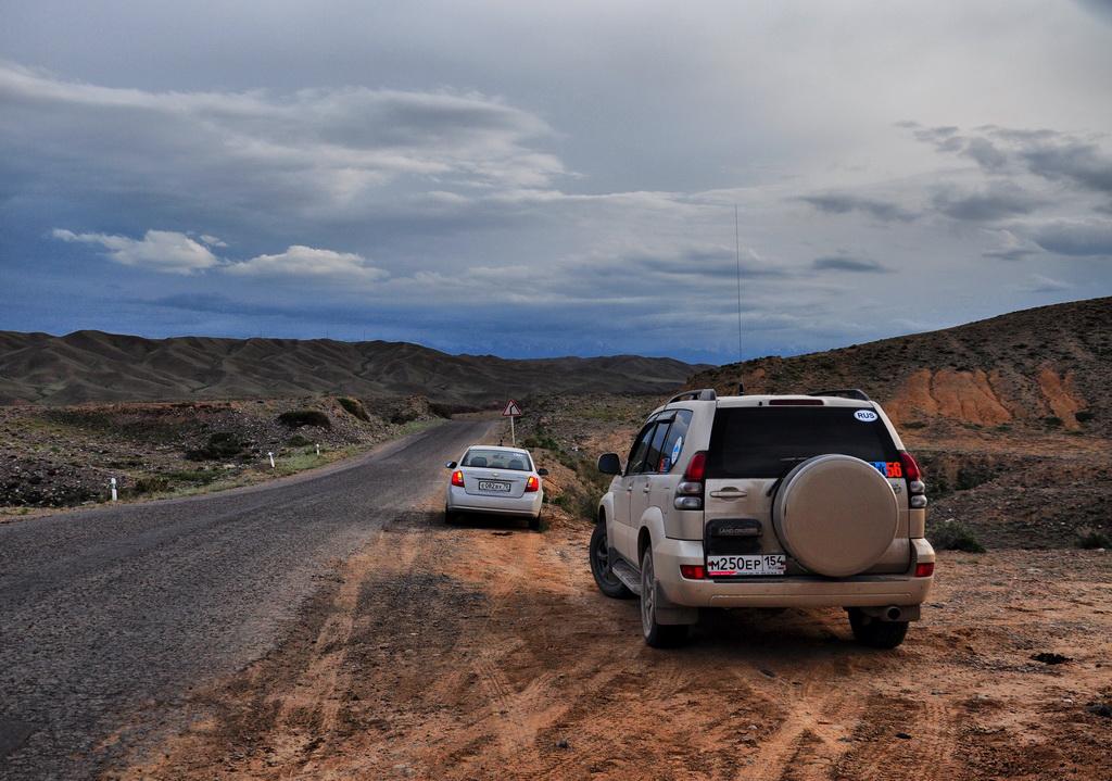 степь в Чарынском каньоне