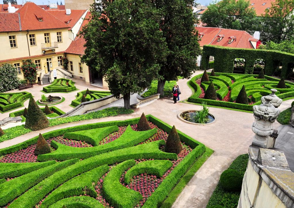 Садово-парковый дизайн в стиле барокко