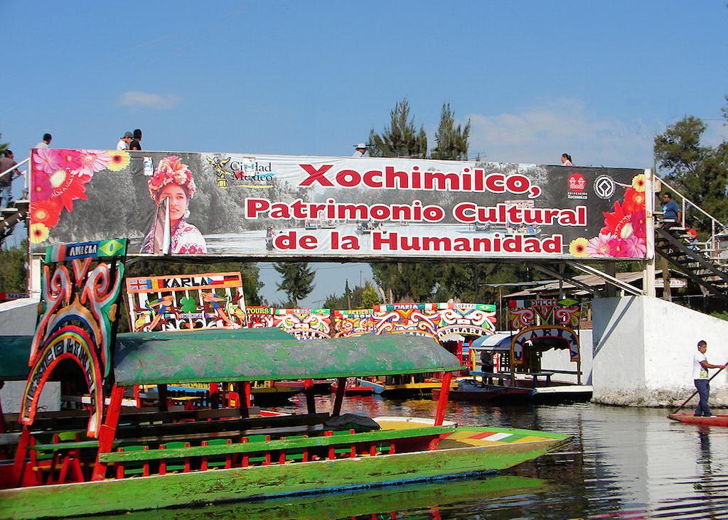 Плавающие сады Cочимилько