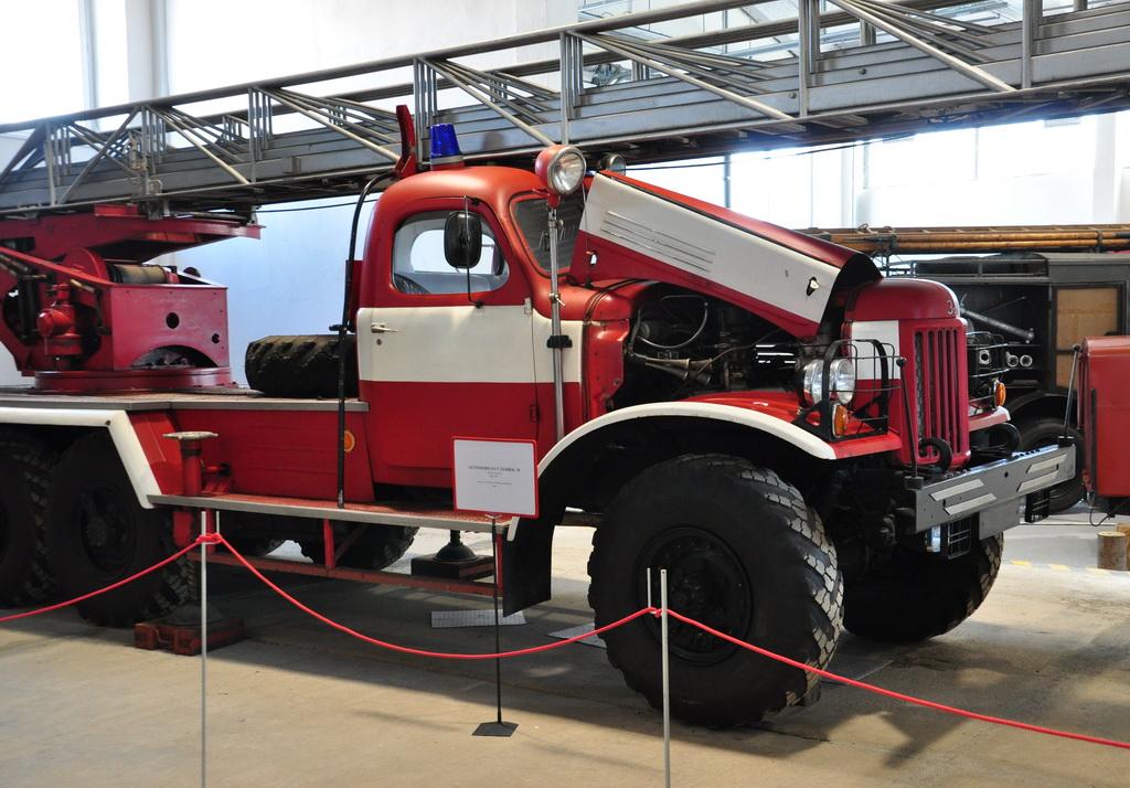 Пожарная машин советского производства